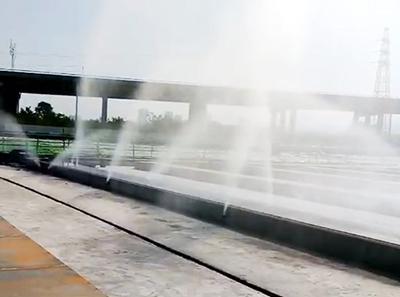 高速梁场喷淋
