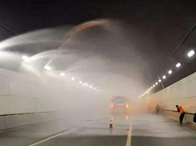 高铁公路隧道喷淋养护系统
