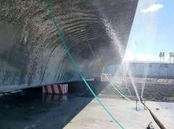 四川高铁梁场智能喷淋控制系统